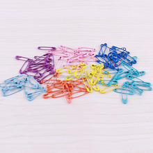 500pcs /lot Mix Color 19mm Small Safety Pin Label DIY For Garment sewing tool Jewelry Finding