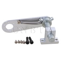 CNBTR 14x9 5x4 5cm Silver Aluminum Steel Encoder Mounting Bracket For E6B2 OVW Encoder Mounting
