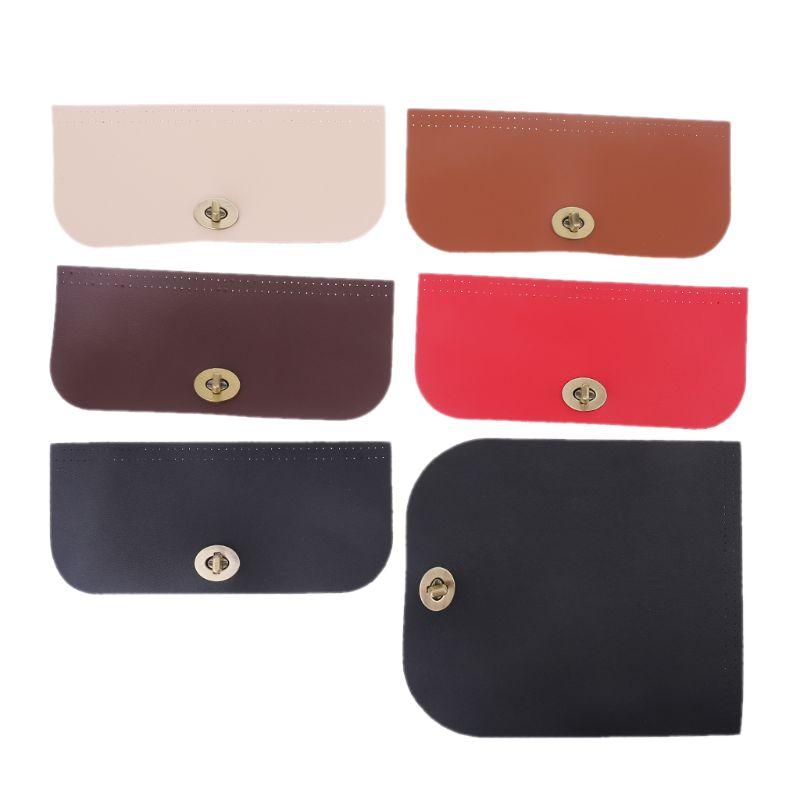 THINKTHENDO Fashion PU Leather Flap Cover Replacement For Women Handbag Shoulder Bag DIY Accessories