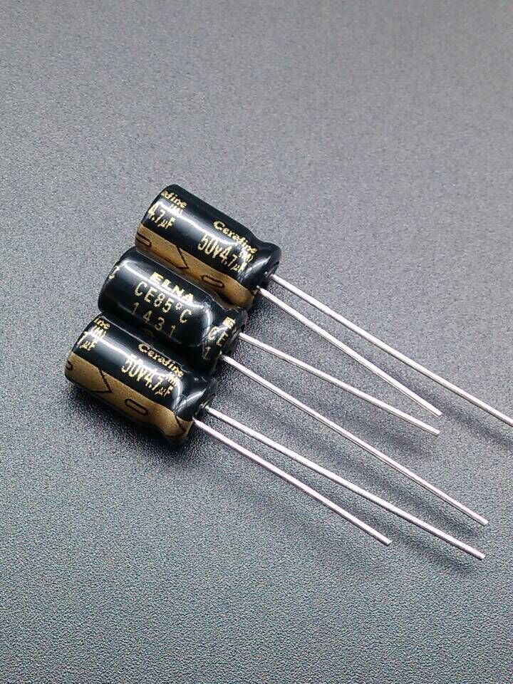 2019 Hot Sale 10pcs/30pcs New Stock Y ELNA ROA Cerafine 4.7uF/50V Origl Authentic Audio Electrolytic Capacitors Free Shipping