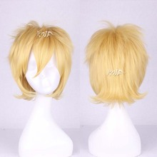 High quality BLAZBLUE hair accessories 30cm 160g synthetic hair jewelry for Jin=Kisaragi cosplay wigs