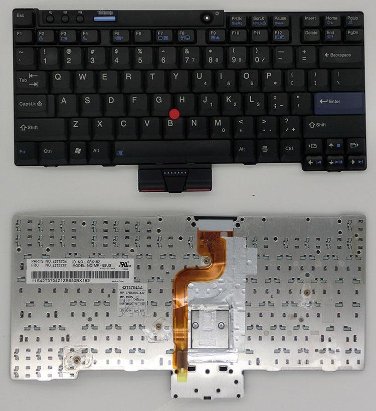 SSEA 95% new Original US Keyboard for IBM Lenovo X200 X201 X200S X200T X201I X201S laptop keyboard tested well  цены