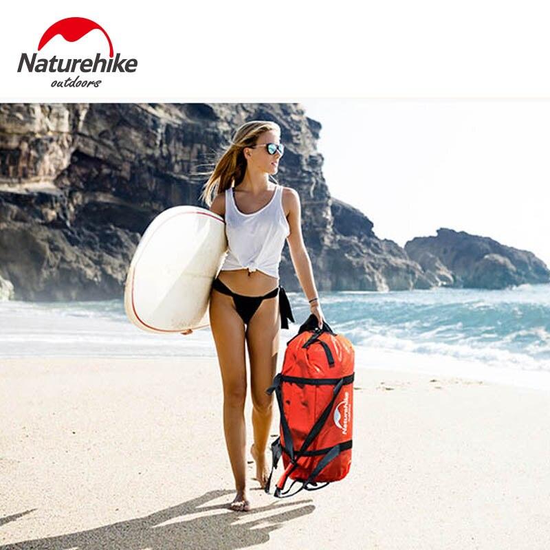 Naturetrekking sac étanche de natation sac de rangement de cyclisme en plein air sac de randonnée de rivière à la dérive de plage 40/60/90/120L NH16T002-S