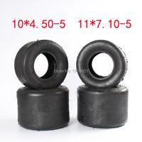 Высококачественные шины qingda 10X4. 50 5 и 11X7. 10 5 kart шины Drift велосипедные колеса аксессуары ATV Quad запасные части