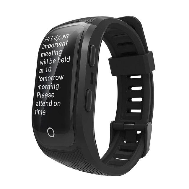 850ea3a65549 Banda inteligente deporte reloj GPS rastreador de actividad pulsera  inteligente Monitor de ritmo cardíaco inteligente de