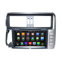 8 Inch Android 5 1 Quad Core HD1024 600 Car DVD Player For TOYOTA For PRADO