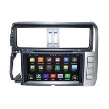8 pulgadas Android 5.1 Quad Core HD1024 * 600 reproductor de DVD de coche para Toyota Prado 2010-2013 con HD de pantalla táctil libre 8 GB mapa