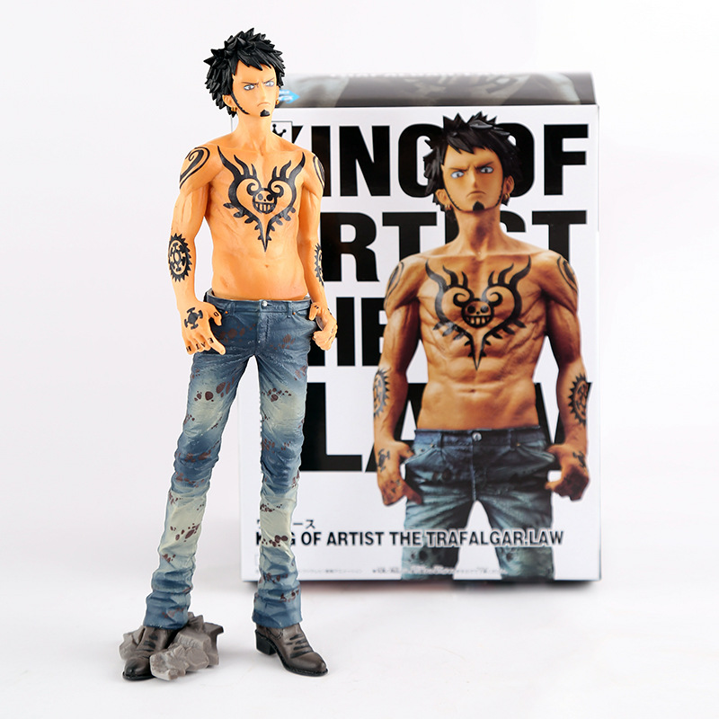 Anime One Piece Figures Tattoo Trafalgar Law Girl Ver. PVC Action Figure Sexy Figure Brinquedos Anime Collectible Kids Toys 26cm