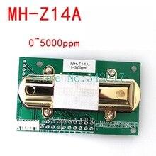 CO2 חיישן MH Z14A אינפרא אדום פחמן דו חמצני, יציאה טורית, PWM, אנלוגי פלט עם כבל 0 2000PPM 0 5000PPM