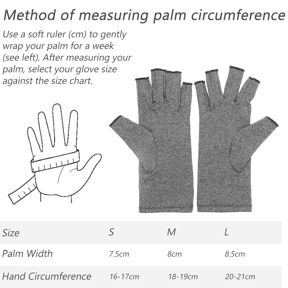 Մեծահասակների ռևմատոիդ սեղմում ձեռքի ձեռնոց Օստեոարթրիտային արթրիտի համար համատեղ ցավազրկող դաստակի աջակցությունը