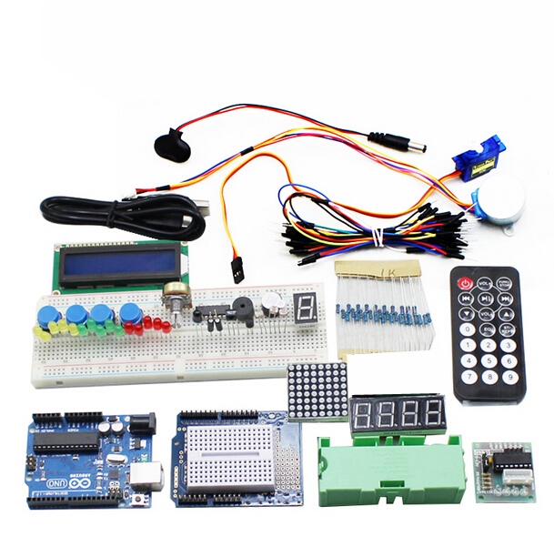 Starter Kit For Arduino UNO R3 Upgraded Version Learning Basic Suite ...