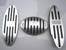 Carro EM Apoio Para Os Pés do Freio Gás Pedal Da Embreagem para BMW Mini Cooper JCW S R55 R56 R60 R61 F54 F55 f56 F60 Acessórios Do Carro