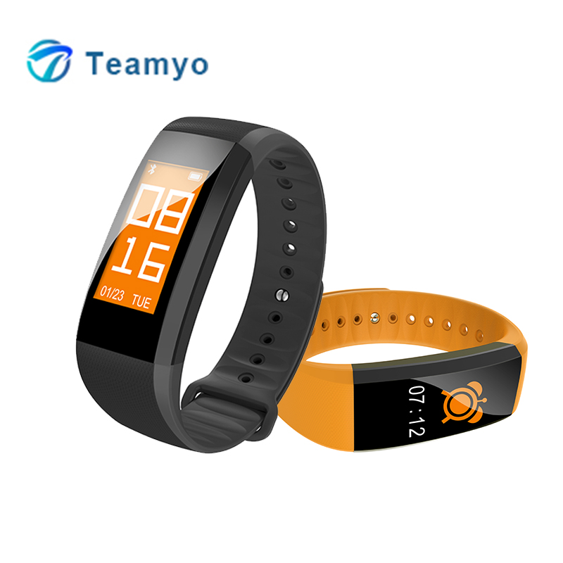 Teyo Bracelets M99 Smart Wristband Fitness Bracelet Blood Pressure Heart Rate Monitor Fitness Tracker Smartband for xiaomi honor