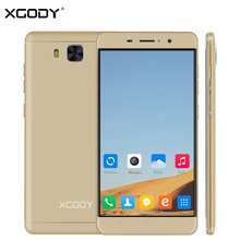 New XGODY D12 Unlock 3G Smartphone 5.5 Inch Android 5.1 MTK MT6580 Quad Core 1GB RAM 8GB ROM 8.0MP 2200mAh Cell Mobile Phone GPS
