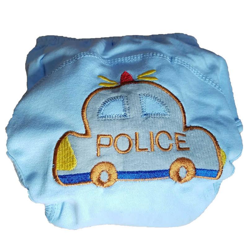 طفل القطن سروال التدريب سراويل الطفل حفاضات قابلة لإعادة الاستخدام حفاضات قابل للغسل حفاضات الرضع ملابس داخلية لأطفال الحفاض تغيير
