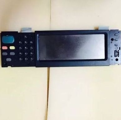 Used-90% new original Color LaserJet CM6030 CM6040mfp 6040 6030 Control panel assembly Q3938-67963 5851-2768 printer parts np1bs 11 used one 90