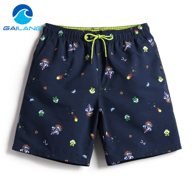 Gailang Brand Men Board Shorts Beach Swimsuits Swimwear Mens Active Bermudas Sweatpants Man Boxers Trunks Quick Dry Bottoms