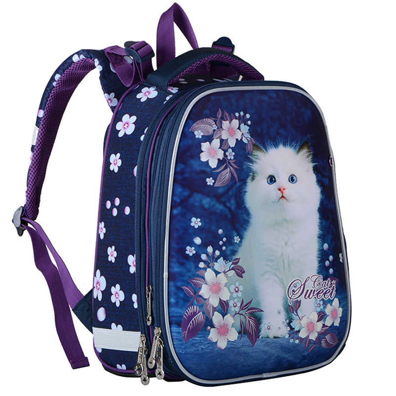 High Quality Children's Backpack Grade 1-3-6 New Girls School Bags Orthopedic Satchel Cartoon School Backpack For Girl Schoolbag
