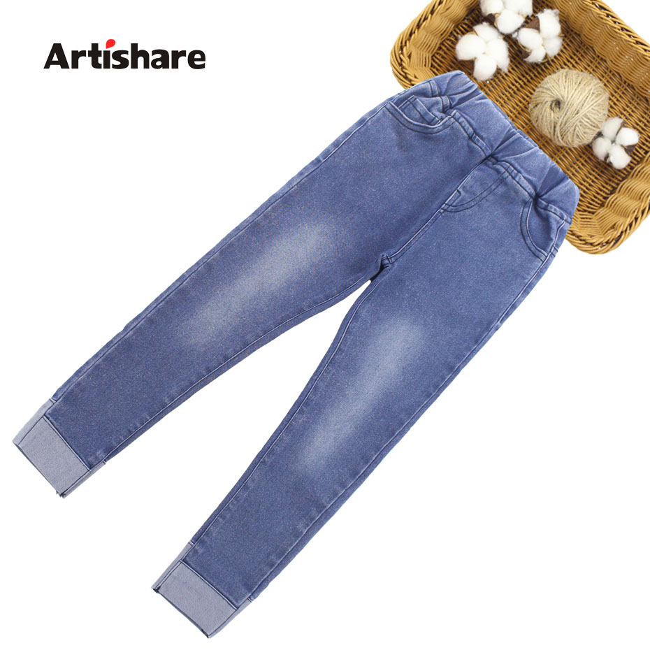 Jeans For Girls 2019 Spring Jeans Girls Denim Pants 6 8 10 12 14 Years Children Jeans Casual Style Teenage Costumes For Girls