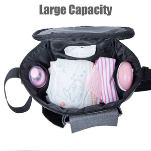 Image 5 - Diaper Bag For Baby Stuff Nappy Bag Stroller Organizer Baby Bag For Mom Travel Hanging Carriage Pram Buggy Cart Bottle Bag