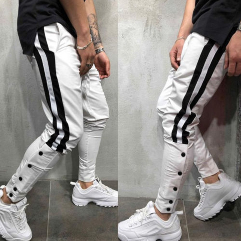 Mens Neue Hosen Böden Mode Casual Volle Hosen