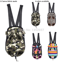 Pet Backpack Dog Bag Chest Pack Dog Carrier Legs Out Front Style Pet product accessories