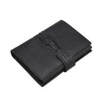 Genuine Leather Men Wallets Short Coin Purse Small Vintage Wallet Cowhide Leather Card Holder Pocket Purse
