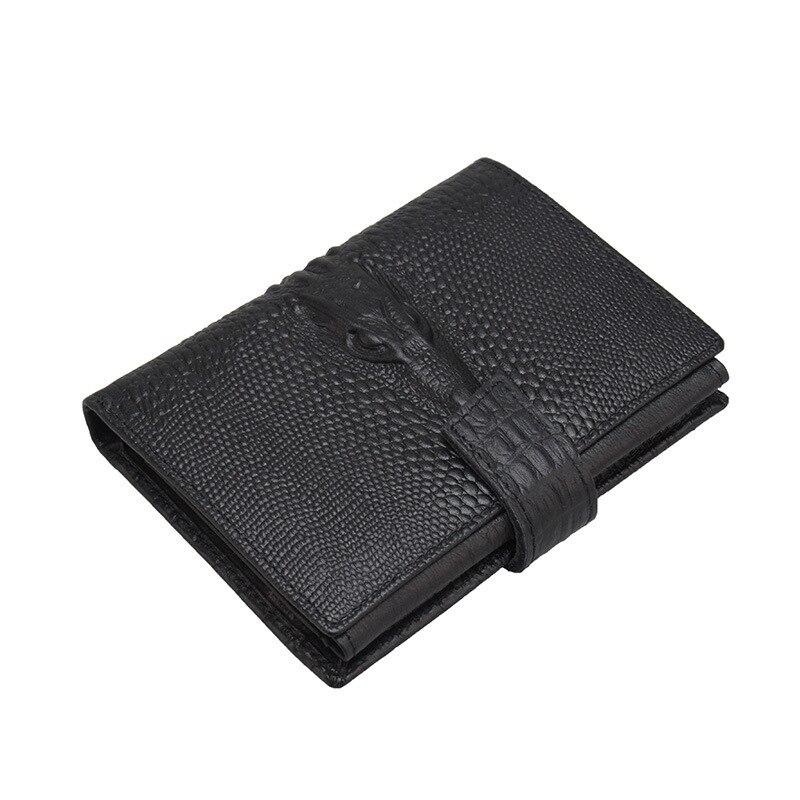 Echtes Leder Männer Geldbörsen Short Geldbörse Kleine Vintage Brieftasche Rindsleder Kartenhalter Tasche Geldbörse Herren Geldbörsen