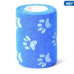 Image 5 - 1 rulo elastik kendinden yapışkanlı bandaj ilk yardım kiti su geçirmez kasları bakım dokunmamış kumaşlar bilek bandaj 7.5*450cm