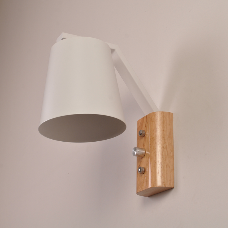 Indoor wall lamp ,led wall sconce light E27 socket, built in switch ...