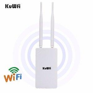 Image 1 - 300Mbps 2.4GHz yüksek güç WiFi tekrarlayıcı WIFI genişletici geniş alan kapalı Wi Fi amplifikatör ile 360 derece yönlü antenler