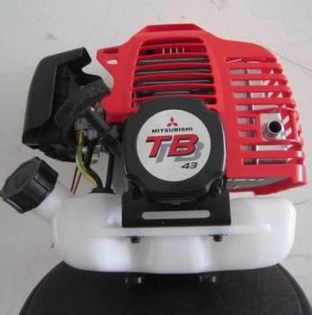 Mitsubishi 43CC Gasoline 2 stroke TU43 engine brush cutter motor hedge trimmer motor tb43 gasoline engine powered mitsubishi 42 7cc 2 stroke