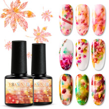 Rban Kuku Cat Air Tinta Kuku Mekar Bahasa Polandia Efek Asap Noda Bubble DIY Varnish Manicure Cepat Cair Kering Nail Art Set(China)