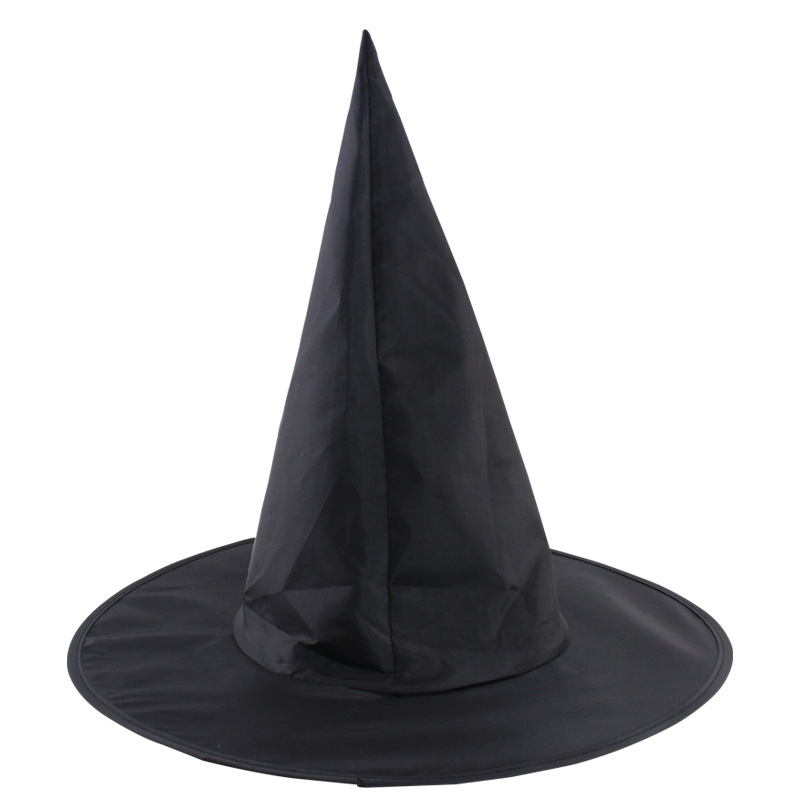 Steeple Magic Hat Promotion Cool Adult Women Halloween Black Witch Hat Oxford Costume Party Props Potter Harry Costume