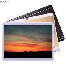 BMXC 10 pulgadas 3G 4G LteTablets Octa Core 10/32G/64 GB ROM Tarjeta Dual SIM niños tablet Android tablet pc 10.1 GPS bluetooth + Regalos