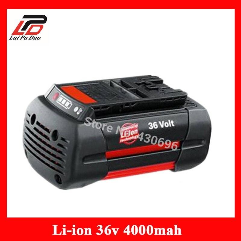 36 v 4.0Ah Li-ion batterie pour outil électrique De Remplacement Pour Bosch 2 607 336 108 2 607 336 108 BAT810 BAT836 BAT840 D-70771