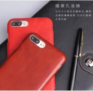 Image 4 - 100% 本物leanther iphone 6 6s 7 8プラスse 2020 × xr xs 11プロマックス12内蔵マグネットリアルレザーケース