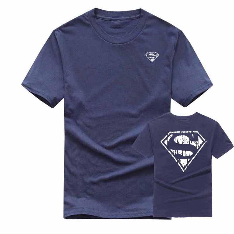mens printed t shirt short summer drees short sleeve brand tshirt men/women fashion cotton printed supermen pattern t-shirt XXL