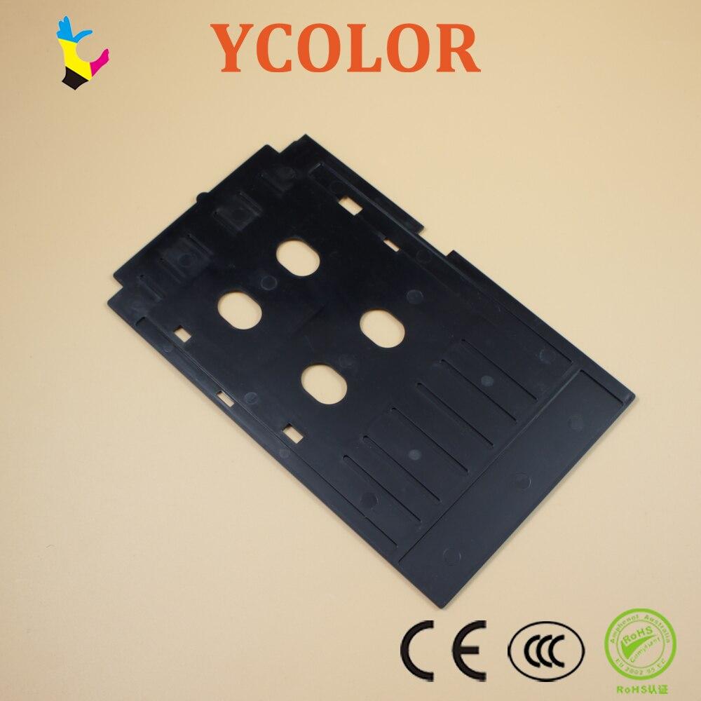 Pvc Id Card Printing Tray For Epson R260 R265 R270 R280 R290 R380 R390 Rx680 T50 T60 A50 P50 L800 L801 R330 Office Electronics Printer Parts Fast Shipping