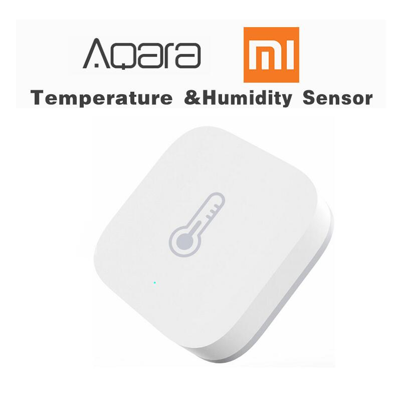 Original Xiaomi Aqara Smart Temperature Humidity Sensor Air Pressure Wireless Remote Control ZigBee Wifi Connection Home Device xiaomi aqara mijia smart home temperature control set air conditioner controller temperature humidity sensor wireless switch