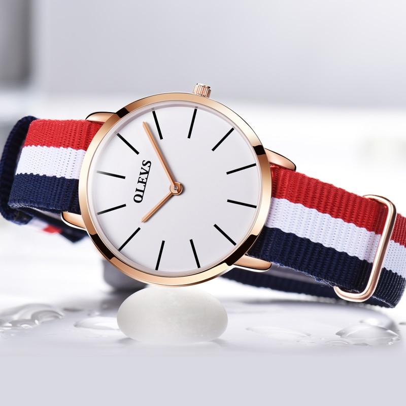 브랜드 OLEVS 시계 여성 캐주얼 스포츠 시계 클래식 - 여성 시계