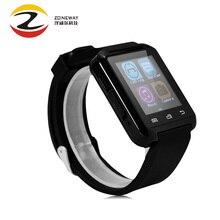 Bluetooth smartwatch u8 reloj smart watch reloj de pulsera digital relojes deportivos para apple ios android teléfono usable electrónica