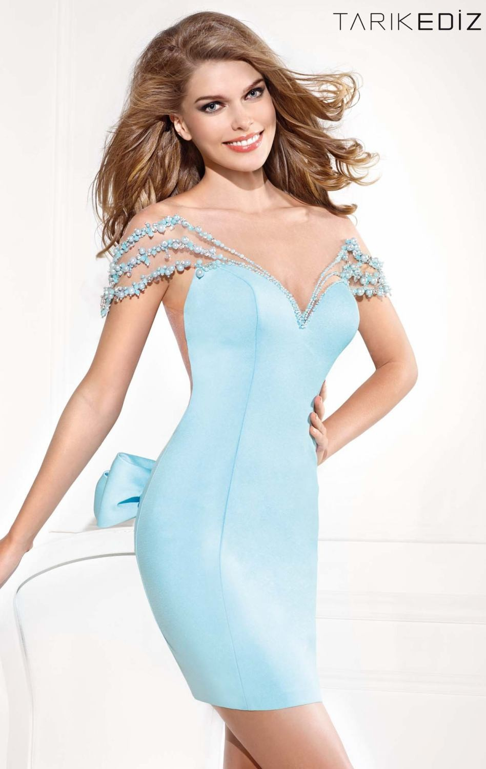 2016 New Cocktail Dress 2017 Fashion Beaded Crew Chiffon Short Crystal Homecoming Prom Dress Party Dresses