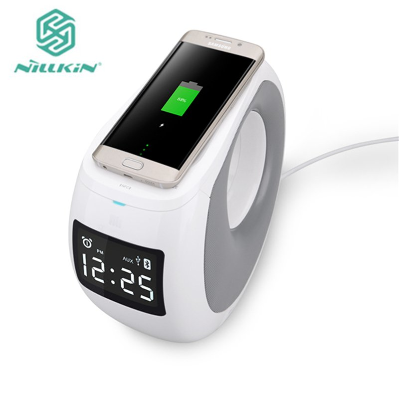 NILLKIN Original MC1 Multifunction Wireless Charger Portable Wireless Bluetooth Speaker For Samsung For iPhone Smartphone