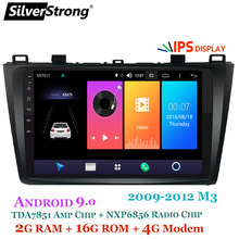 SilverStrong Android9.0 IPS 9inch 4G Auto DVD voor Mazda 3 Axela SIM Modem Radio Auto Android 8.0 Navigatie stereo Audio (geen DVD)(Hong Kong,China)