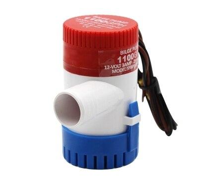 все цены на Bilge Pump 350 500 750 1100GPH DC 12V 24V Electric Water Pump For Aquario Submersible Seaplane Motor Homes Houseboat Boats онлайн