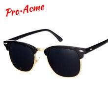ce8085c247 Pro Acme Classic Brand Polarized Sunglasses Men Women Half Metal Mirror  Unisex Sun Glasses Gafas De Sol UV400 CC0832