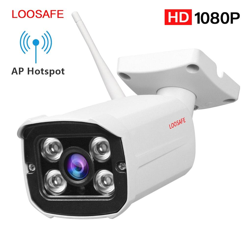 LOOSAFE 2MP IP Камера домашний Wi-Fi Безопасности IP Камера пуля Камера видеонаблюдения наружного видеонаблюдения Полный IP66 всепогодный Камера