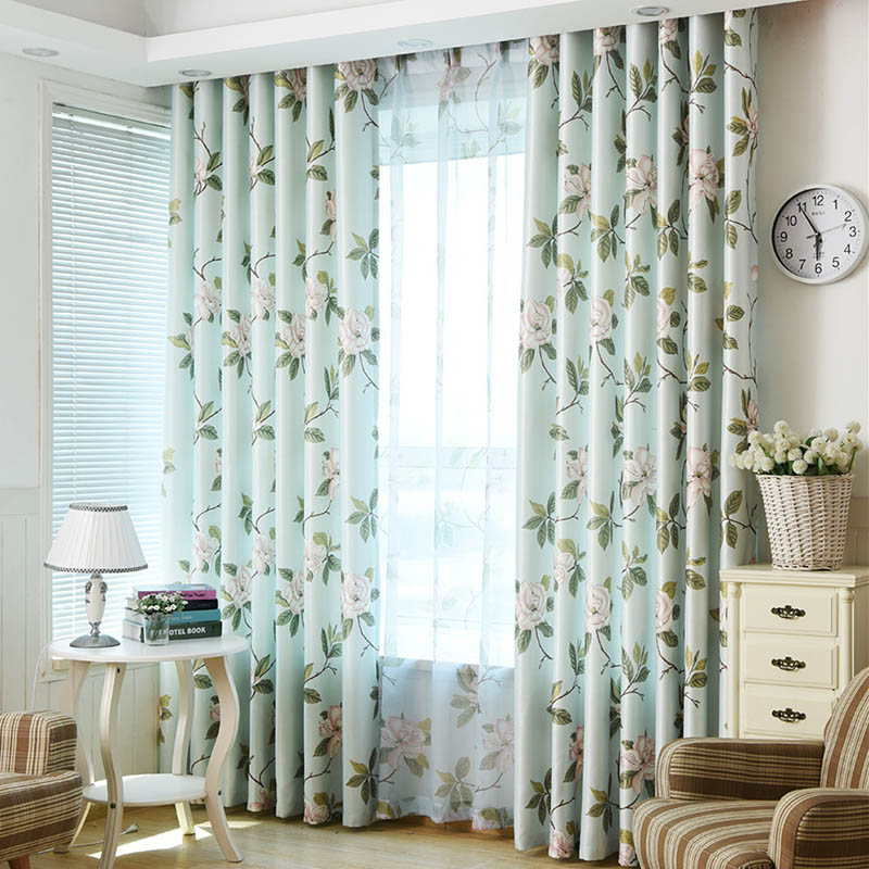 Online Get Cheap Floral Country Curtains -Aliexpress.com | Alibaba ...