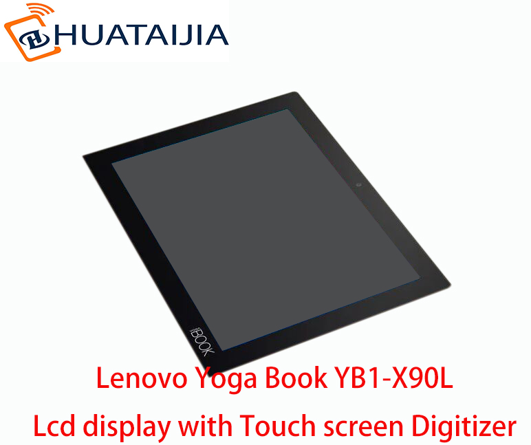 100% New Original LCD Display For 10.1 Lenovo Yoga Book YB1-X90L YB1-X90F LCD Screen with Touch screen Digitizer Assembly цена